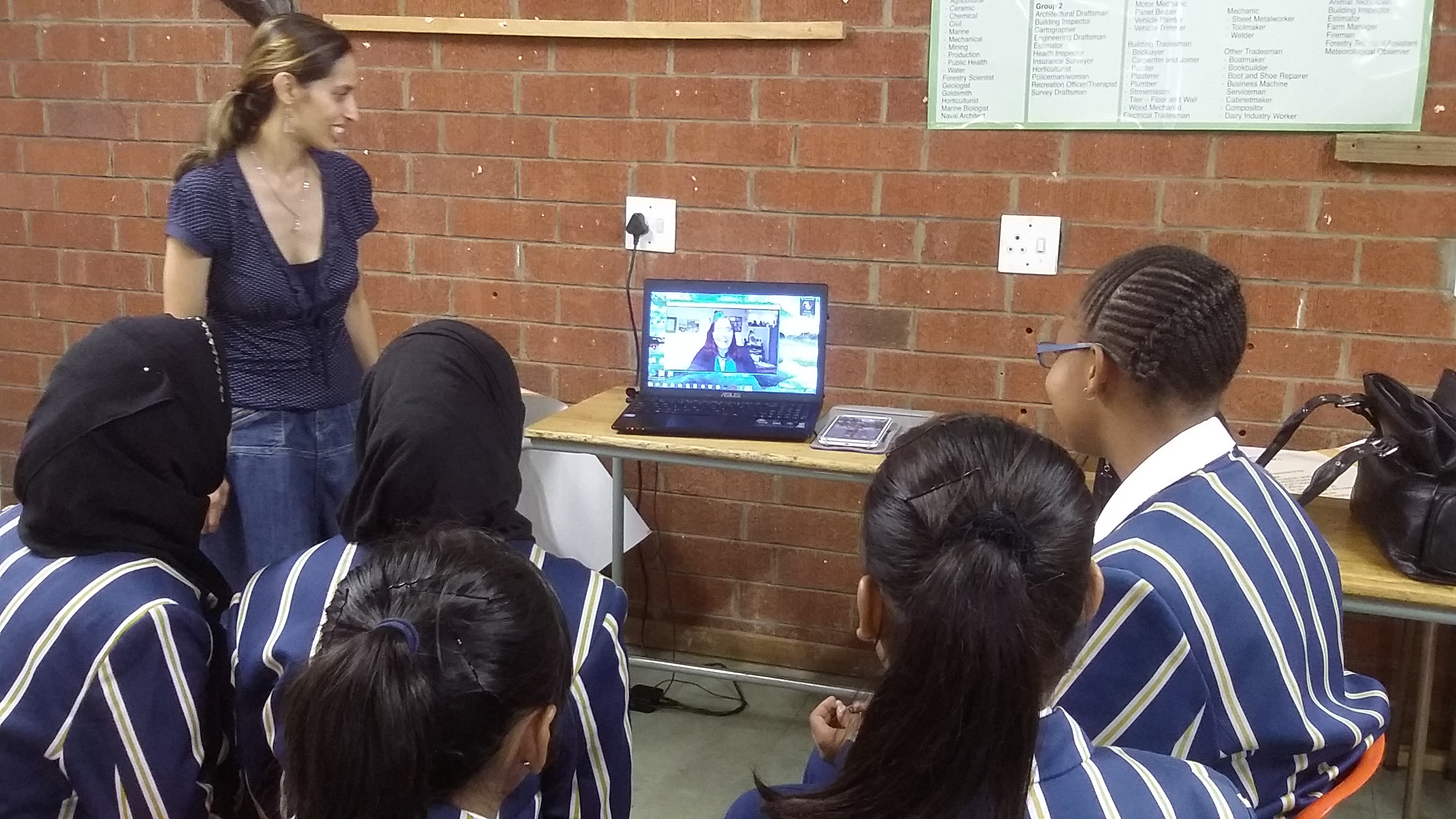 Skyping with mentors