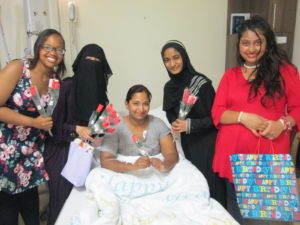 LHS girls with patient